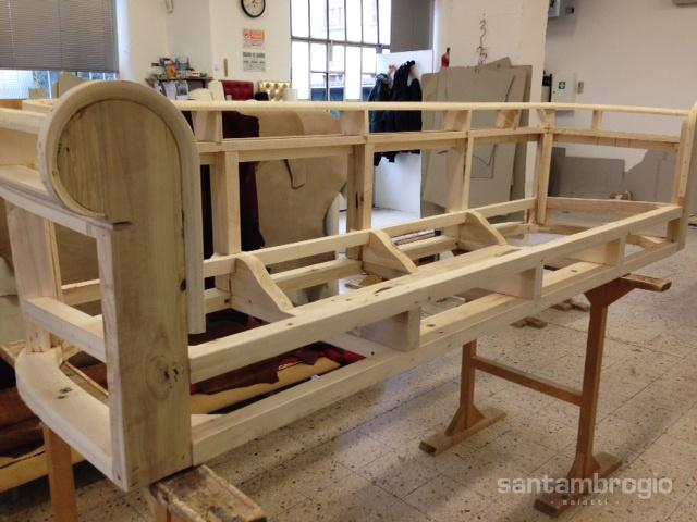 fusto in legno massello – Grillo divani Varese